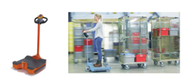 0311001 | Beagle 360 Drive compacte sta-elektrotrekker, max. trekvermogen 1500 kg, snelheid  6 km/u