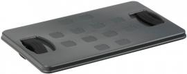 59400636 | SUNWARE afsluitbaar deksel voor 26 liter krat, afm. 38x23x2 cm (lxbxh), kleur antraciet, gewicht 0,4 kg