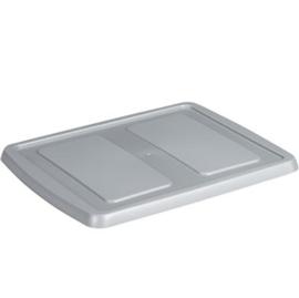 39500672 | SUNWARE Nesta platte deksel voor opbergbox 17 l, 32 l, 45 l, afm. 46 x 36,5 x 2 cm, kleur transparant, fabrieksgarantie 2 jr