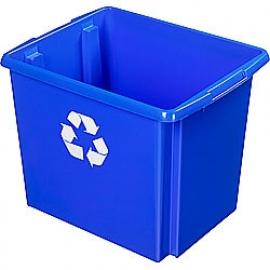 35800648 | SUNWARE Nesta Box Eco, afm. 455x360x360 mm (lxbxh), inhoud 45 ltr, kunststof, kleur blauw