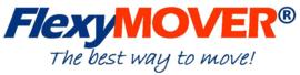 0411105 | FLEXYMOVER verende trekstang 365 mm (l) met trekhaak van roestvrijstaal voor rolcontainers en transportwagens