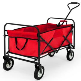 19971-RD | DEMA bolderwagen Sunny, opvouwbaar, draagvermogen 75 kg, totaal afm. 1520/950x570x650 mm (bxdxh), wand 250 mm (h), gewicht 9,9 kg