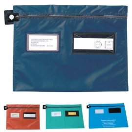 08240 | PROMAIL postverzendtas plat, rits aan lange zijde met of zonder verzegelmogelijkheid