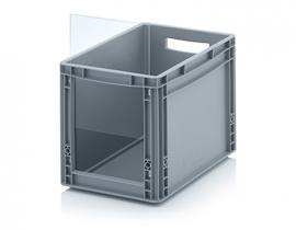 ES4332 | QUALITY BOX insteekbaar zichtvenster geschikt voor Eurobak SLK4332, afm. 22,8x29x0,3 cm, acrylglas, kleurloos, gewicht 192 gr