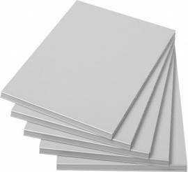 E31G17 | PRIMA OFFICE extra (5 stuks) legborden voor Classic kast IP-925/D, IP-925/V, IP-925/B, IP-625/D, IP-Maxi/925, IP-Maxi/625, Singel/Maxi en Mega-Maxi, decor grijslaminaat, aluminium labelhouder, legborddragers, afm. 280x370x12 mm (bxdxh)