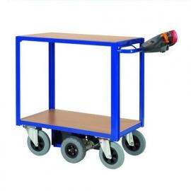 0410001 | FLEXY CART elektrische tafelwagen ETW1, aandrijving 24Vdc/270W, laadvlak 850x500 mm (lxb), laadvermogen 300 kg