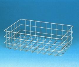 20020035 | PROMAIL draadgaas (post)mand, afm. 600x400x180 mm (lxbxh), kleur aluminium RAL 9006