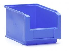 SLK3-5015 | Kunststof magazijnbak 23x15x12,5 cm (lxbxh), blauw, gewicht 200 g
