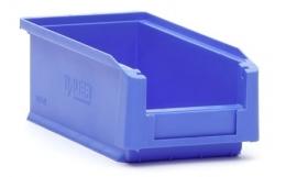 SLK2L-5015 | Kunststof magazijnbak 21,5x10x7,5 cm (lxbxh), blauw, gewicht 89 g