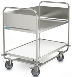 0139292 | HUPFER verzwaarde afruimwagen ARW 10x6/2 HS, 2 etages, afm. laadvlak 1000x600 mm (bxd), draagvermogen 120 kg, gewicht 30 kg
