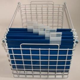 20020015 | PROMAIL inzetrek voor posthangmappen, afm. 595x395x330 mm (lxbxh), kleur aluminium RAL9006