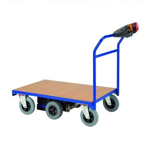 0405002 | FLEXY CART elektrische platformwagen EPW2, aandrijving 24Vdc/350W, laadvlak 1000x600 mm (lxb), laadvermogen 400 kg