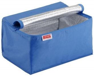 95009459 | SUNWARE koeltas t.b.v. Square vouwkratten 24 liter, afm. 355x265x200 mm (lxbxh), aluminium voering, sterke nylon rits