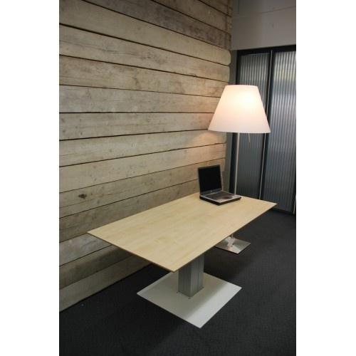 ED2120L | EasyDesk EK-500, zit-sta kolompoot tafel, elektrische hoogteverstelling traploos 685-1185 mm, slag 500 mm, bladmaat 1200x800 mm (bxd), hefvermogen 120 kg