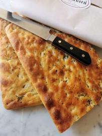 Focaccia (platbrood uit Liguria)