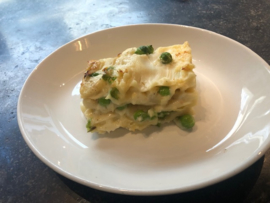 Primo - Lasagna con piselli e asparagi (Pasen/Easter)