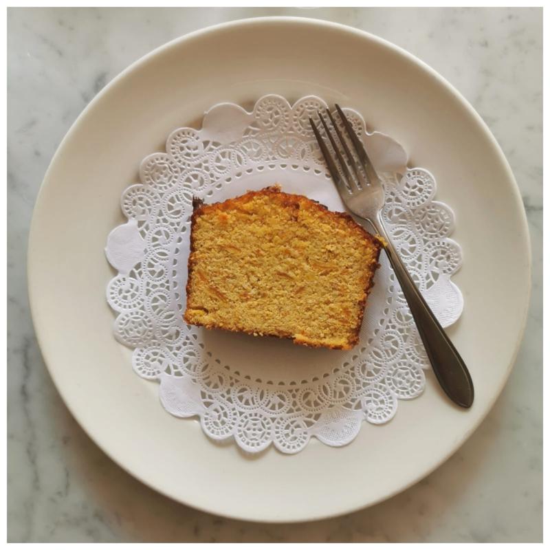 Dolce - Torta di polenta e arancia *glutenvrij*