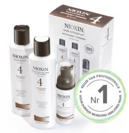 Nioxin Kit System 4 dunner wordend, fijn, chemisch behandeld haar