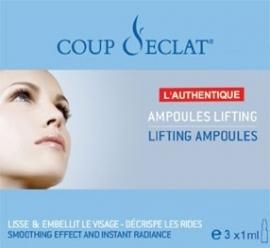Coup d`Eclat Natuur Lifting Ampullen 3 x 1 ml