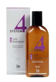 Sim Sensitive System 4  - 3 Mild climbazole shampoo, 100ml