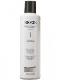 Nioxin system 1, scalp Revitaliser 300ml normaal tot dun uitziend, fijn, natuurlijk haar