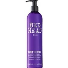 Tigi Bed Head Dumb Blond Purple Toning Shampoo 400ml