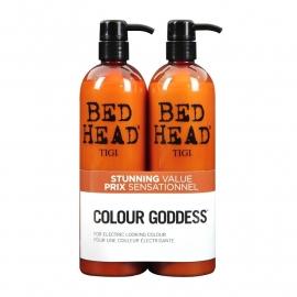 Tigi Bed Head Tween Colour Goddess Colour Combat Shampoo 750ml + Conditioner 750ml