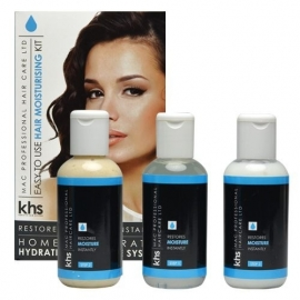 KHS Keratin Home System Moisturizing Hair System Kit