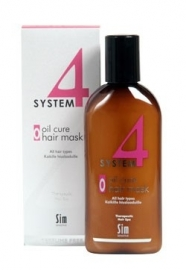 Sim Sensitive System 4  - O Oil cure hair mask,100ml