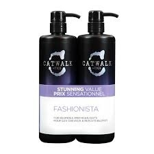 Tigi Catwalk Tween Fashionista Violet shampoo 750ml + conditioner 750ml