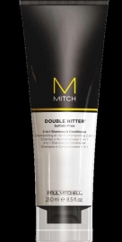Paul Mitchell Mitch Double Hitter 2-in-1 Shampoo en Conditioner 250ml