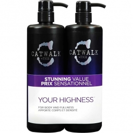 Tigi Catwalk Tween Your Highness shampoo 750ml + conditioner 750ml