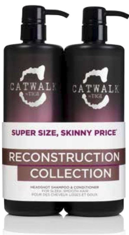 Tigi Catwalk Tween Headshot shampoo 750ml + conditioner 750ml
