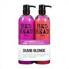 Tigi Bed Head Tween Dumb Blond Colour Combat Shampoo 750ml + conditioner 750ml