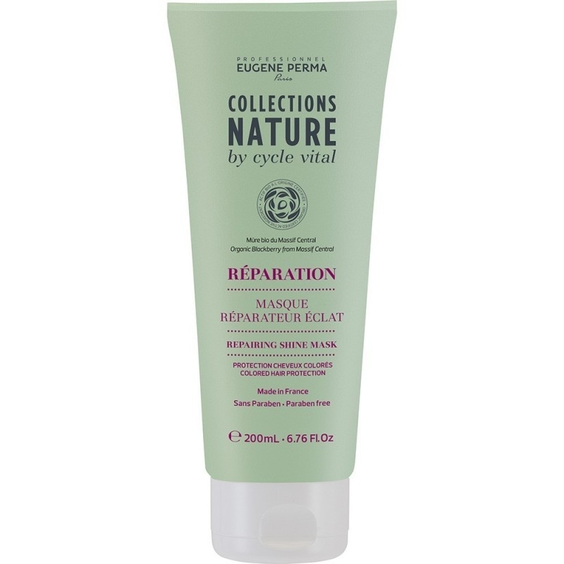 Eugene Perma Cycle Vital Collections Nature Masque Reparateur Eclat 200ml