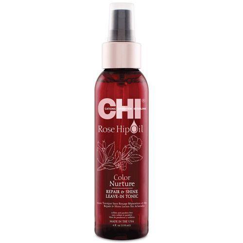 Farouk Chi Rose Hip Oil Repair & Shine Leave-in Tonic 118ml