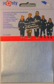 Self-adhesive reflective tape