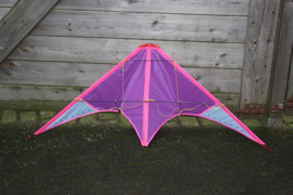 Siegers Vliegers Stunt kite paars