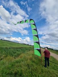 groene windfaan 6 meter b keuze