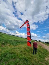 rode windfaan 6 meter b keuze