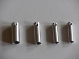 10,0 mm. aluminium split dop
