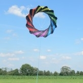 Rotor regenboog zwart