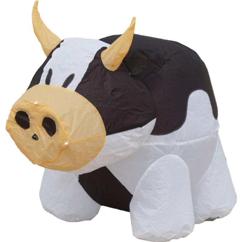 HQ Bouncing Buddy Black Cow