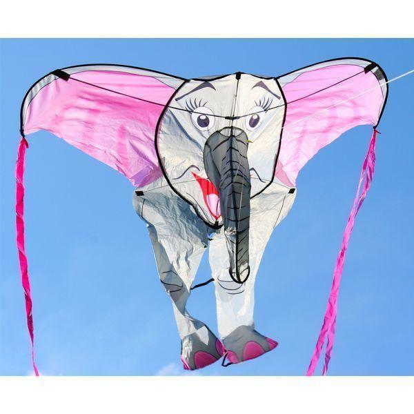X-vliegers - 3D  Olifant