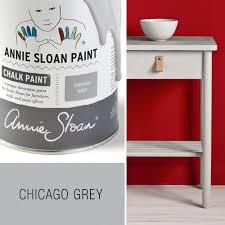 Krijtverf Annie Sloan - kleur CHICAGO GREY