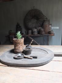 Tray serveerblad van vergrijsd hout