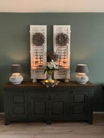 Klantfoto - Meubels - Annie Sloan Graphite, Honfleur en wax