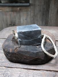 Hammam zeepblok koord heerlijke geur zwart 200gr
