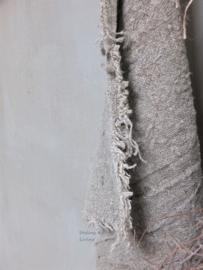 Shabby linnen doek 40x60cm gerafeld
