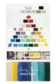 De kleurenkaart